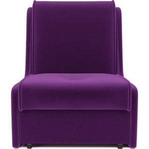 Кресло-кровать Mebel Ars Аккорд № 2 фиолет ППУ