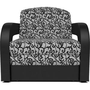 лучшая цена Кресло-кровать Mebel Ars Кармен 2 кантри кожа ППУ