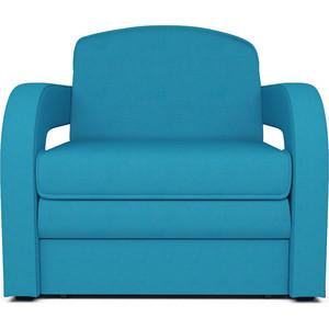 Кресло-кровать Mebel Ars Кармен 2 астра синяя ППУ