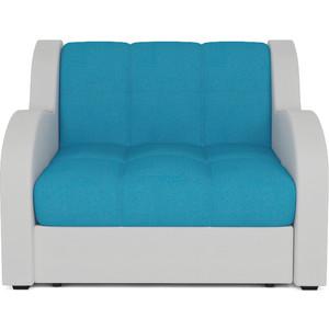 Кресло-кровать Mebel Ars Аккордеон Барон синий ППУ