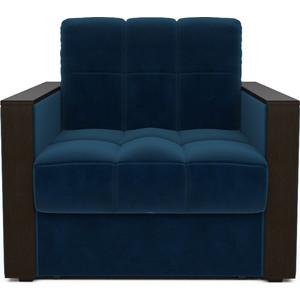лучшая цена Кресло-кровать Mebel Ars Техас темно - синий ППУ