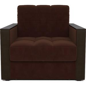 Кресло-кровать Mebel Ars Техас коричневый ППУ