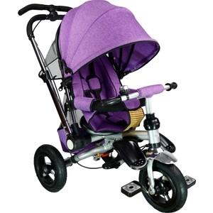 Велосипед трехколесный Farfello TSTX010 лен фиолетовый