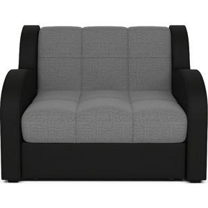 Кресло-кровать Mebel Ars Аккордеон Барон серый ППУ.
