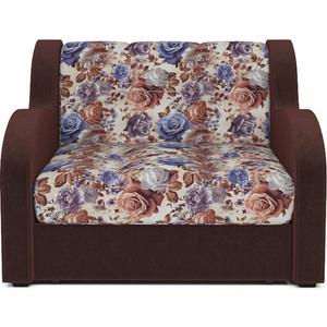 Кресло-кровать Mebel Ars Аккордеон Барон цветы ППУ.