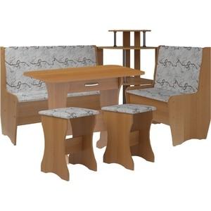 Кухонный набор Атлант Тэссера 629/1-бежевая, вишня оксфорд