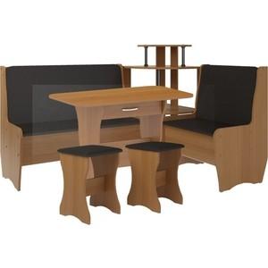 Кухонный набор Атлант Тэссера punto - бронзовая, вишня оксфорд