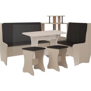 Кухонный набор Атлант Тэссера punto - коричневый, дуб девонширский