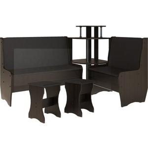 Кухонный набор Атлант Тэссера без стола punto - бронзовая, венге магия