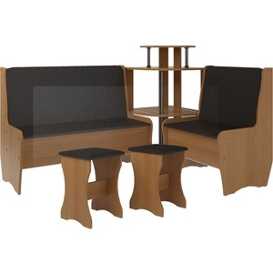 Кухонный набор Атлант Тэссера без стола punto - бронзовая, вишня оксфорд
