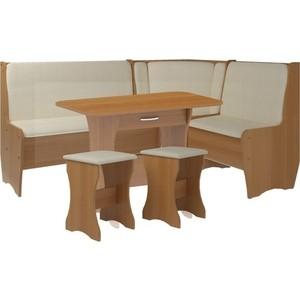 Кухонный набор Атлант Эна punto - бежевый, вишня оксфорд