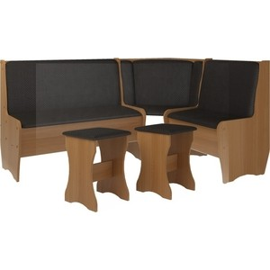 Кухонный набор Атлант Эна без стола punto - бронзовая, вишня оксфорд