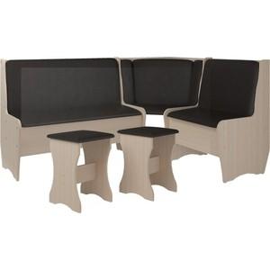Кухонный набор Атлант Эна без стола punto - бронзовая, дуб девонширский