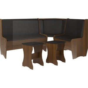 Кухонный набор Атлант Эна без стола punto - бронзовая, орех экко фото