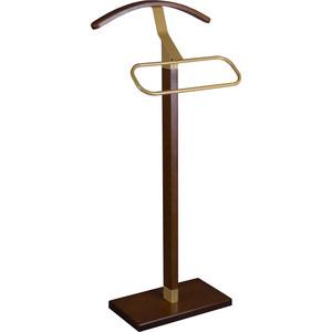 Вешалка костюмная Мебелик Галант 341 золото/средне-коричневый