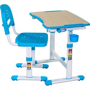 Комплект парта + стул трансформеры FunDesk Piccolino II blue fundesk piccolino pink
