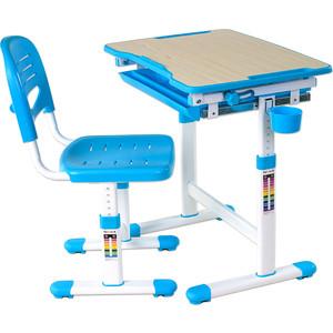 Комплект парта + стул трансформеры FunDesk Piccolino blue fundesk piccolino pink