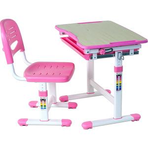 Комплект парта + стул трансформеры FunDesk Piccolino pink цены онлайн