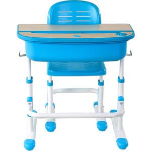 Комплект парта + стул трансформеры FunDesk Capri blue