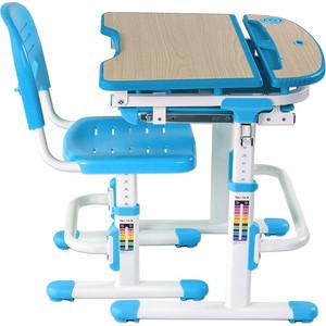 Комплект парта + стул трансформеры FunDesk Sorriso blue