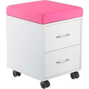 Мобильный шкаф для хранения FunDesk SS15W pink