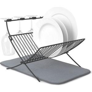 Сушилка для посуды с ковриком Umbra Xdry (1009253-149)