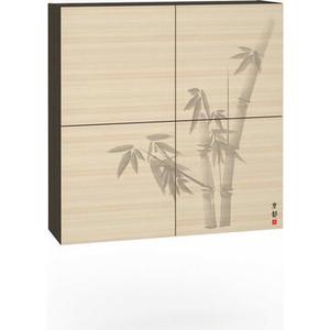 Шкаф навесной Моби Киото 904 венге магия/дуб паллада к-02