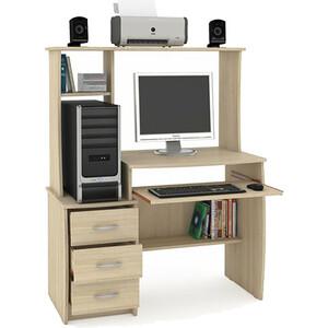 Стол компьютерный Моби Комфорт 5 СКР дуб сонома