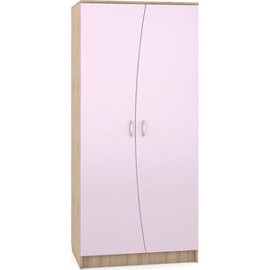 Шкаф Моби Ника 401 бук песочный/лаванда
