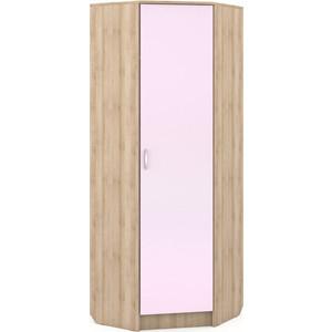 Шкаф угловой Моби Ника 404 бук песочный/лаванда