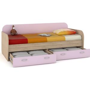 Кровать Моби Ника 424 бук песочный/лаванда