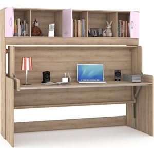 Стол-кровать Моби Ника 428 бук песочный/лаванда