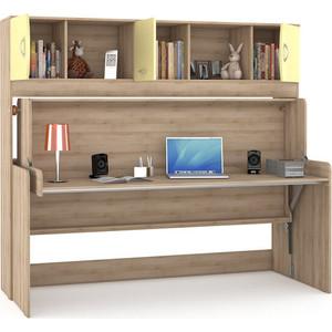Стол-кровать Моби Ника 428 бук песочный/лимонный сорбет