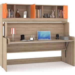 Стол-кровать Моби Ника 428 бук песочный/оранжевый
