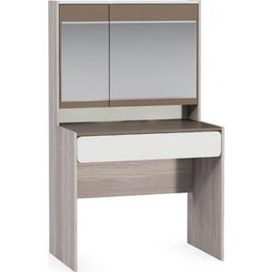 Стол туалетный Моби Элен светлый/латте/белый глянец