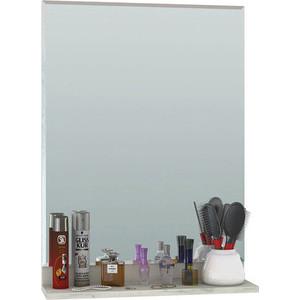 Зеркало Моби Юнона 02 дуб белый CRAFT/серый шифер