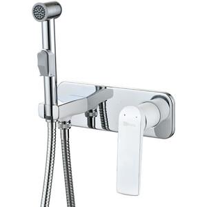 Смеситель для душа Lemark Allegro с гигиеническим душем, встраиваемый (LM5919CW)