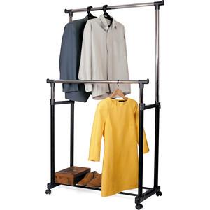 Стойка для одежды Tatkraft PHOENIX двойная. передвижная. высота от 100-170 см