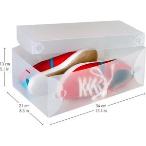 Короб Tatkraft GLASGOW для хранения обуви. набор из 10 штук длина 34 см. высота 13 ширина 21 см