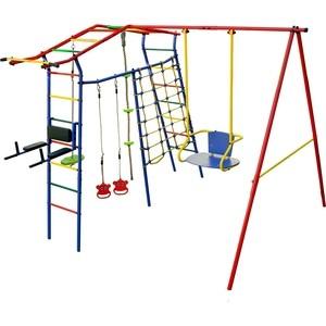 Детский комплекс c качелями КМС Игромания-5 Фитнесс дачный-405