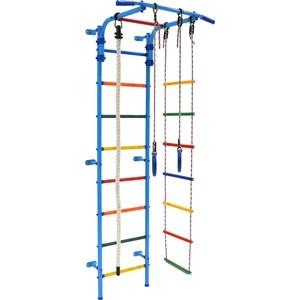 цена на Детский спортивный комплекс Формула здоровья Start 3 голубой/радуга