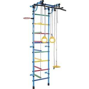 Детский спортивный комплекс Формула здоровья Гамма голубой/радуга блюдо vellarti бассет вращающееся диаметр 30 см 2170035