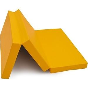Мат КМС № 4 (100 х 150 10) складной жёлтый (3549)
