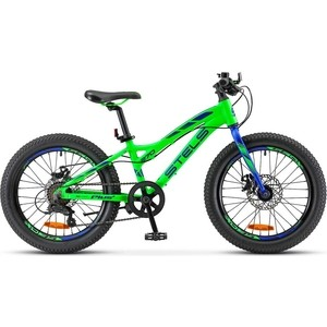Велосипед Stels Pilot 270 MD 20''+ V010 (2018) 11'' Зеленый Pilot 270 MD 20