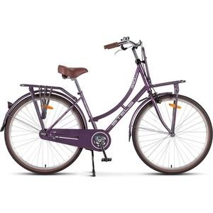 Велосипед Stels Navigator 310 Lady 28 V020 (2018) 18 Фиолетовый велосипед stels navigator 310 lady 2015