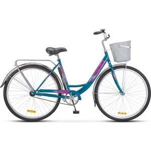 Велосипед Stels Navigator 345 28'' Z010 (2019) 20'' Морская волна