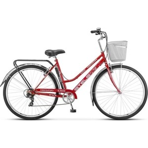 Велосипед Stels Navigator 355 Lady 28 Z010 (2018) 20 Красный велосипед stels navigator 310 lady 2015
