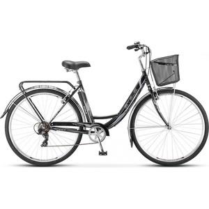Велосипед Stels Navigator 395 28 Z010 (2018) 20 Черный (С КОРЗИНОЙ)