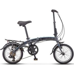 Велосипед Stels Pilot 370 16 V010 (2018) Антрацитовый
