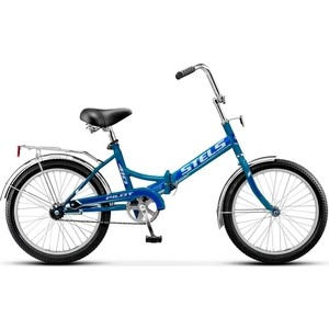 Велосипед Stels 20 Pilot-410 1- ск Z011 (Синий) 2020 LU071880